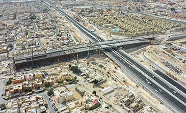 DUHAIL INTERSECTION AND AL GHARRAFA STREET